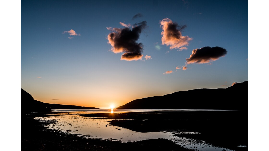 Sunset Dundonnell - Ecosse