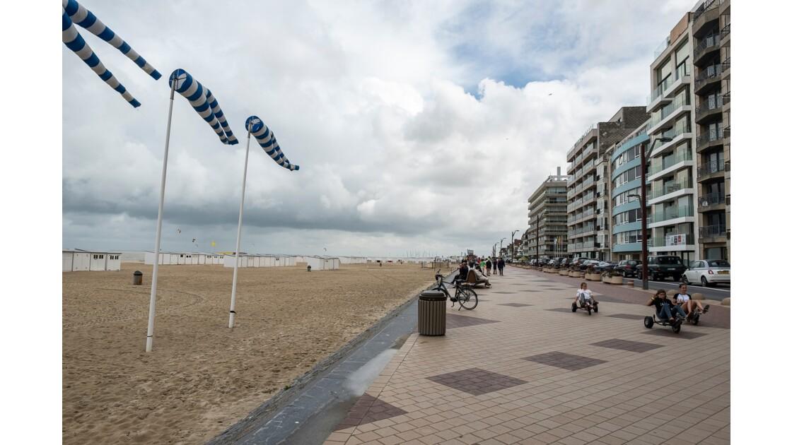 Avec la mer du Nord... à Knokke-le-Zoute