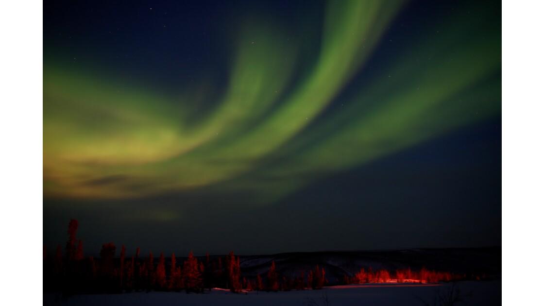 Féeriques aurores boréales