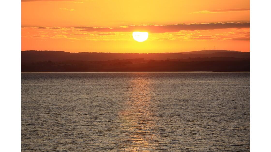 Douarnenez - la baie - lever du jour