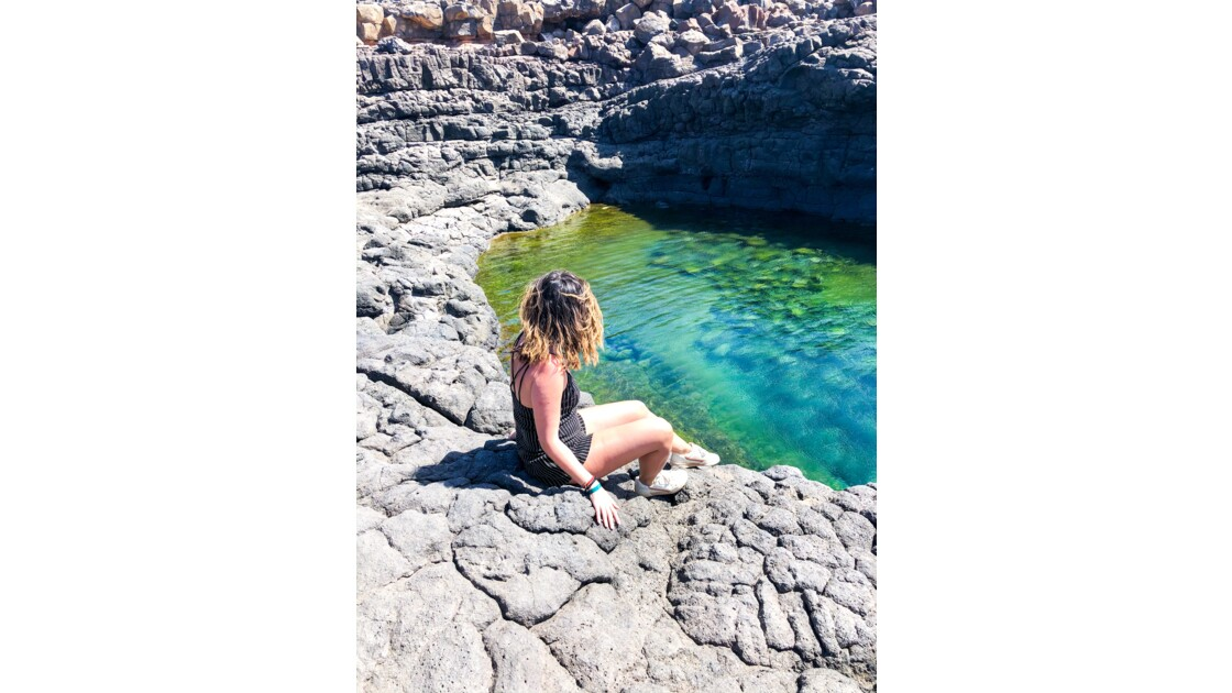 Blue eye cave au Cap Vert