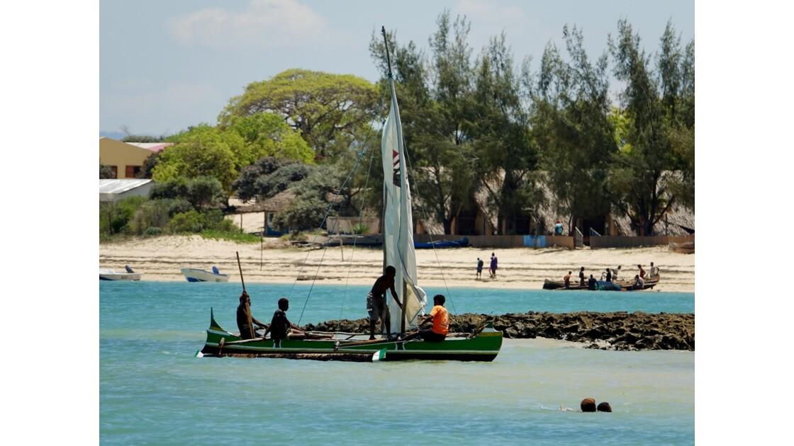Madagascar Port de pêche d'Ifaty 17