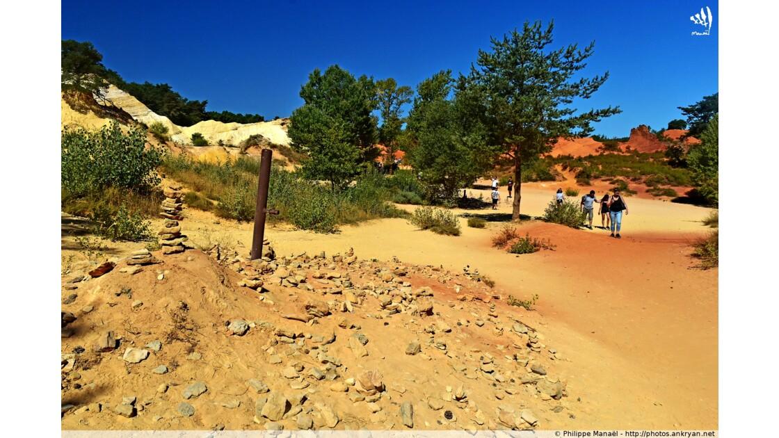 Ocres du Colorado provençal de Rustrel
