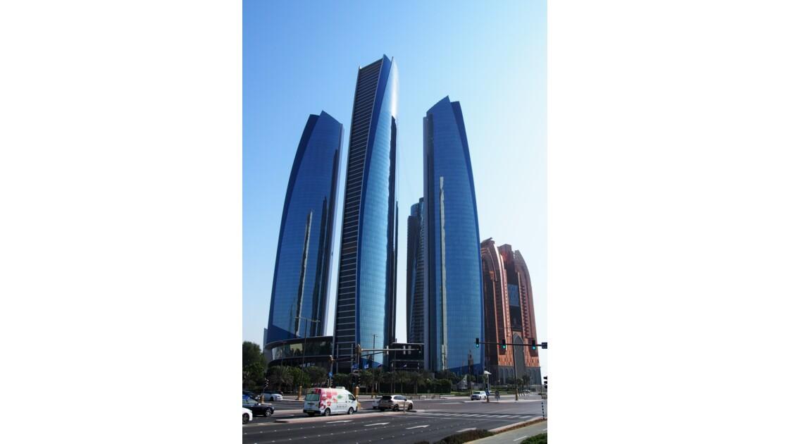 Abou Dhabi - Ethiad Towers