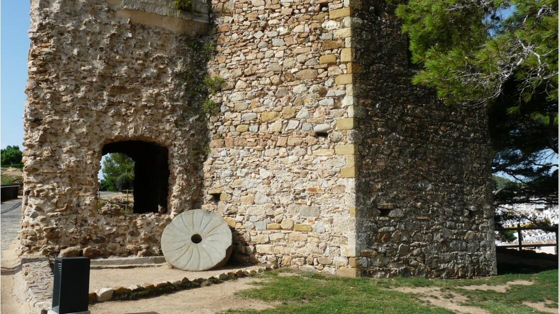 La vieille ville de Tossa de Mar