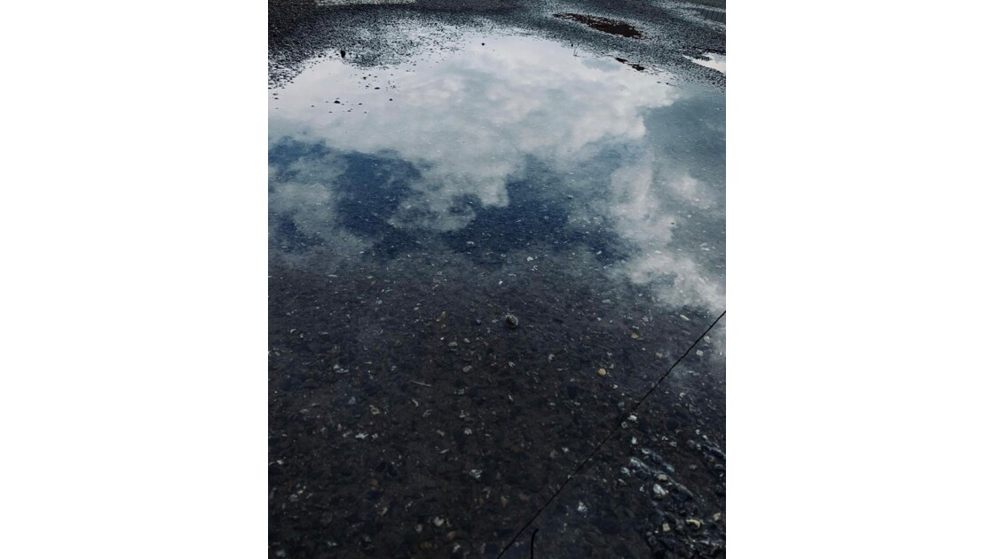 Reflet nuage