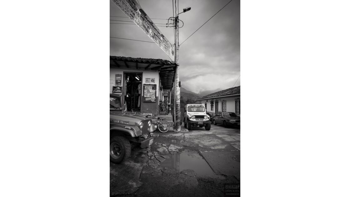 Salento, petite ville de Colombie