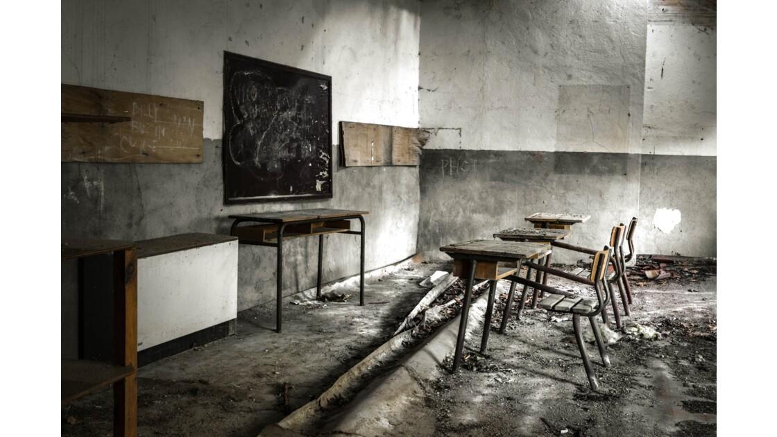 URBEX - à l'école !