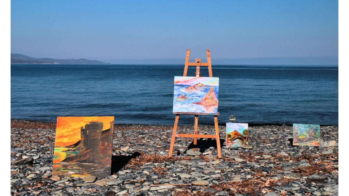 Paul Franceschi  Artiste  peintre à olmeta du cap-corse une halte qui vaut le détour