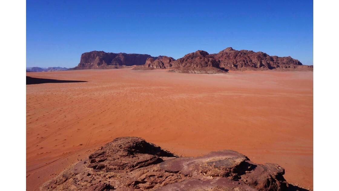 Wadi rum et son désert rouge