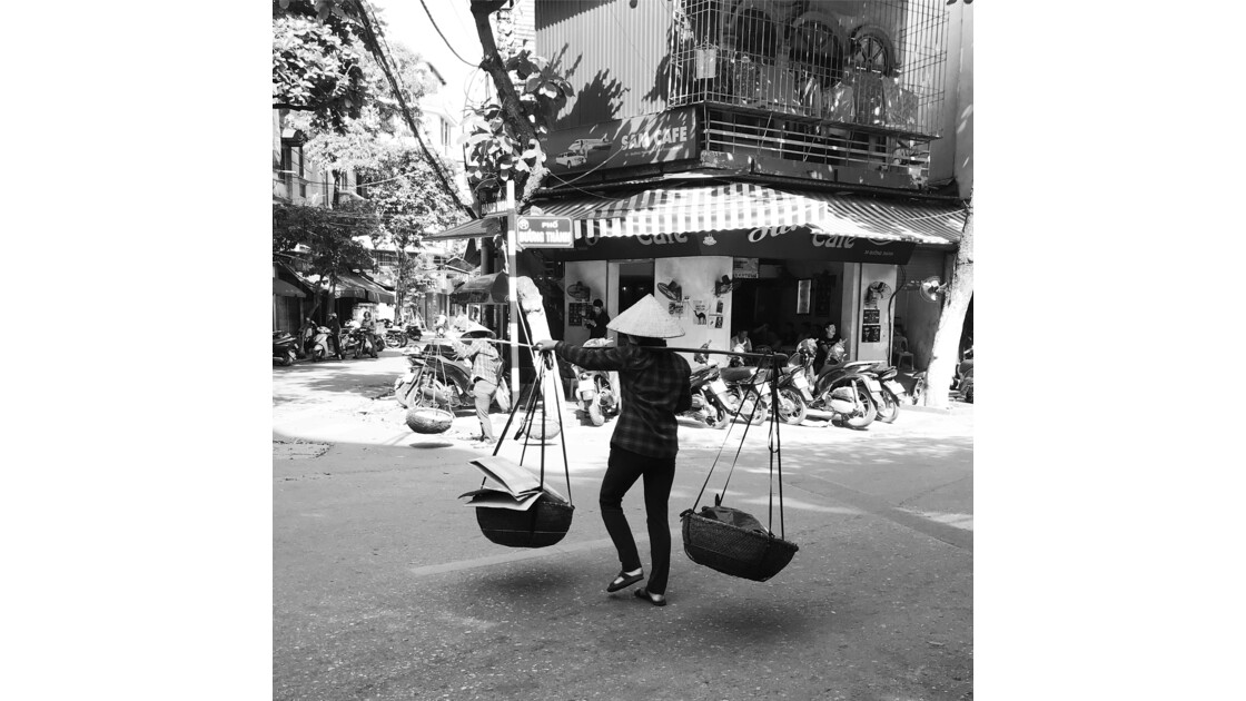 Street in Hanoï