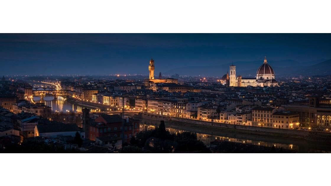 Florence à l'heure bleue