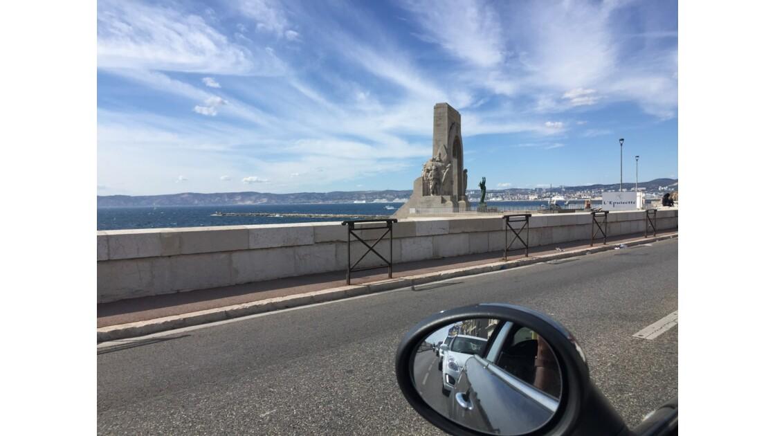 Corniche Kennedy: Liberté, Égalité, Cabriolet.