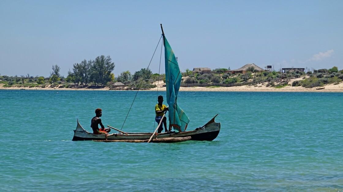 Madagascar Port de pêche d'Ifaty 10