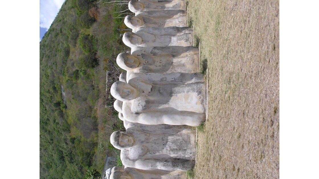 Mémorial Cap 110 de l'Anse Cafard