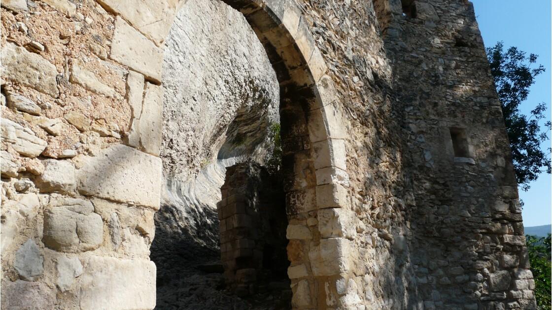 La montée au château