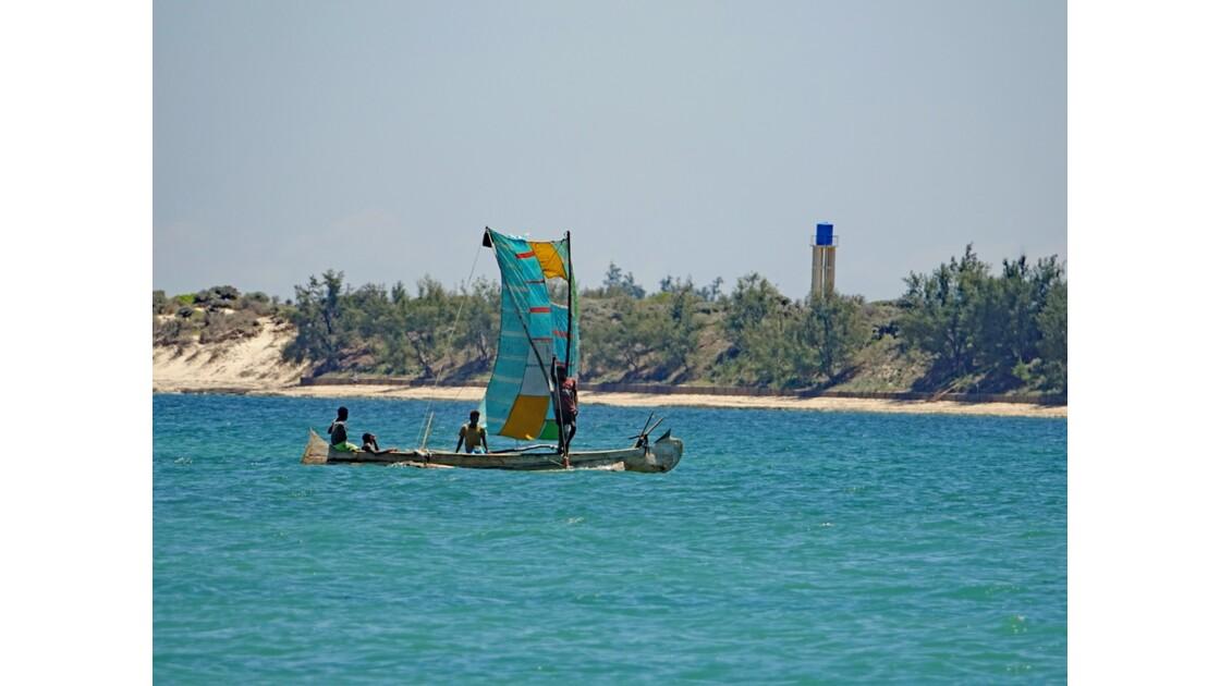 Madagascar Port de pêche d'Ifaty 14