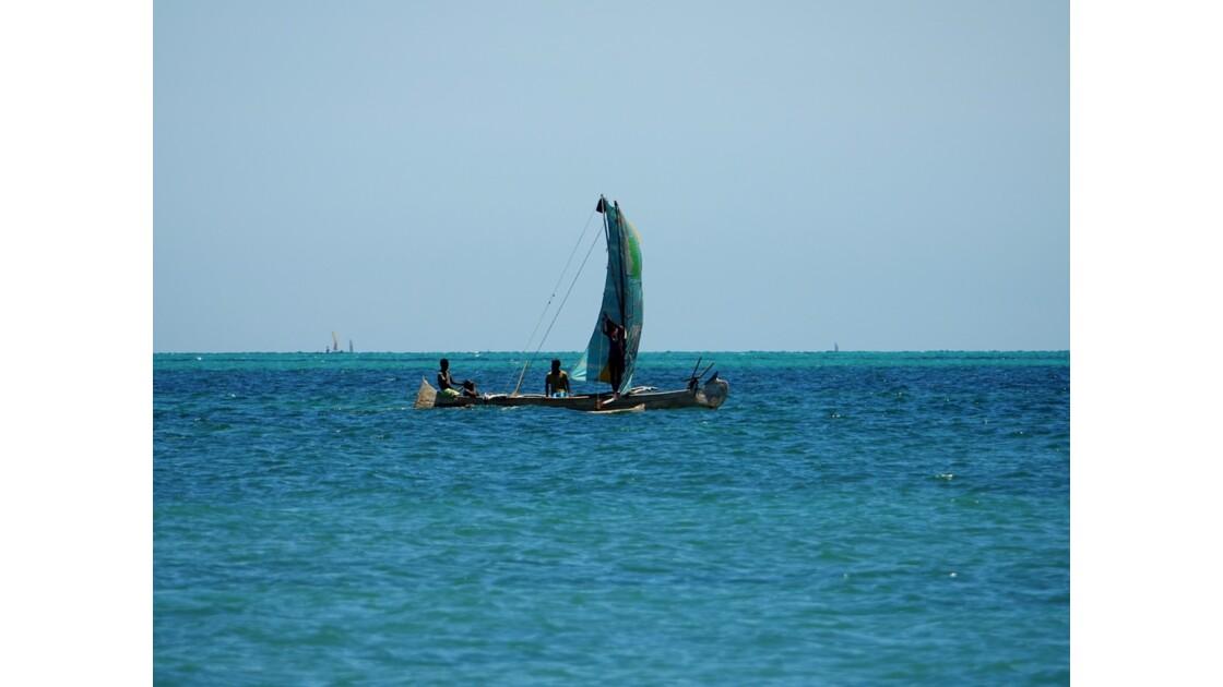 Madagascar Port de pêche d'Ifaty 12