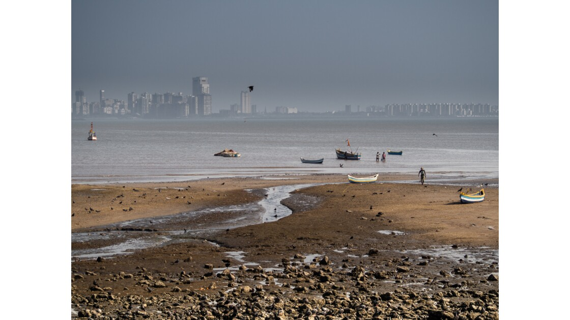 La promenade de Mumbai