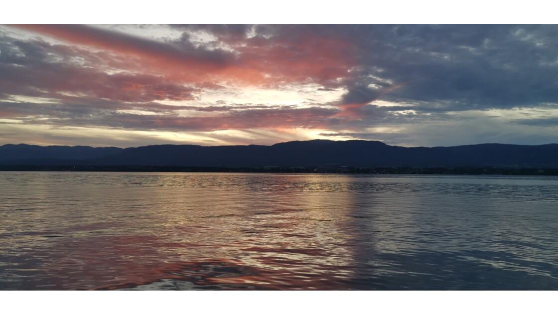Genève et le jet d'eau