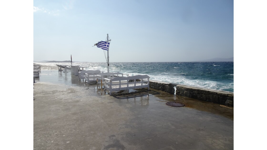Respiration à Mykonos