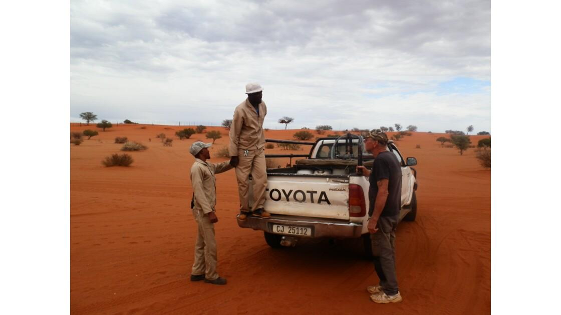 Travailleurs du desert