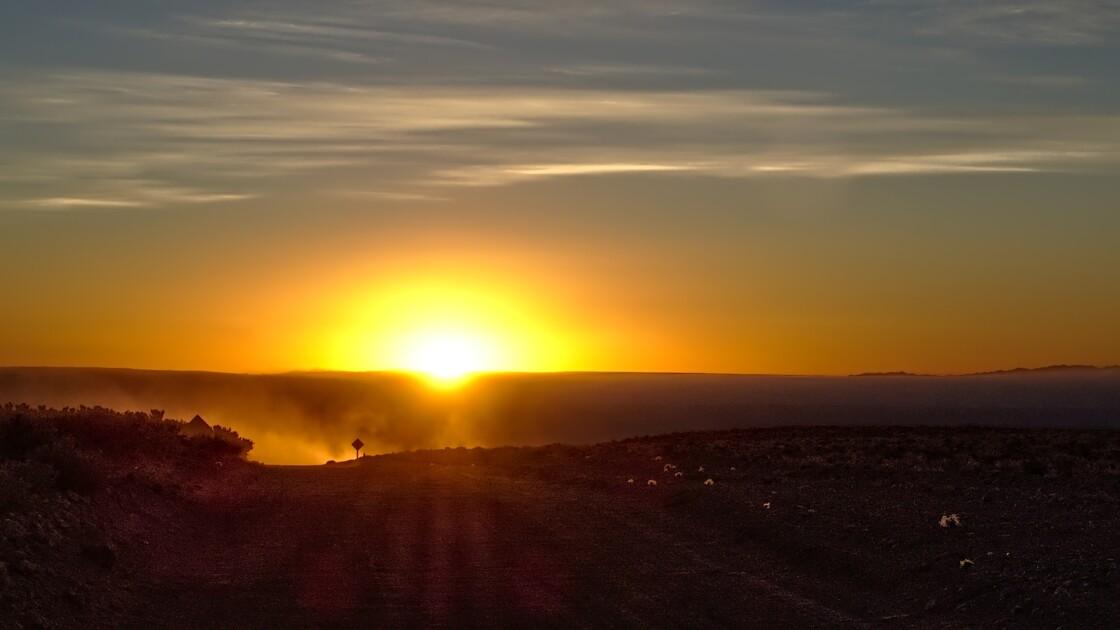 Puesta del sol en Atacama -Talabre - 21/09/2018