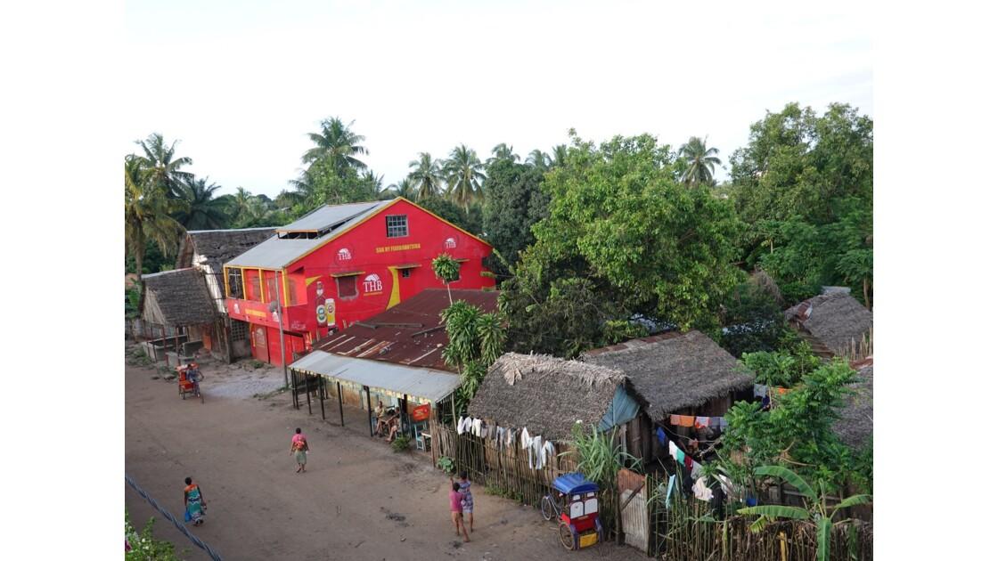 Madagascar Manakara vue de l'hôtel La Résidence 4