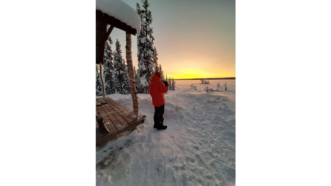 Laponie suedoise en famille