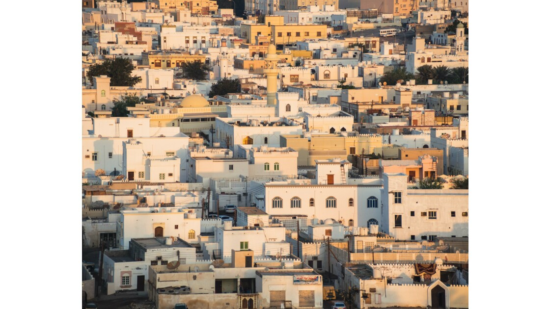 Lever de soleil sur les toits de Sur - Sultanat d'Oman