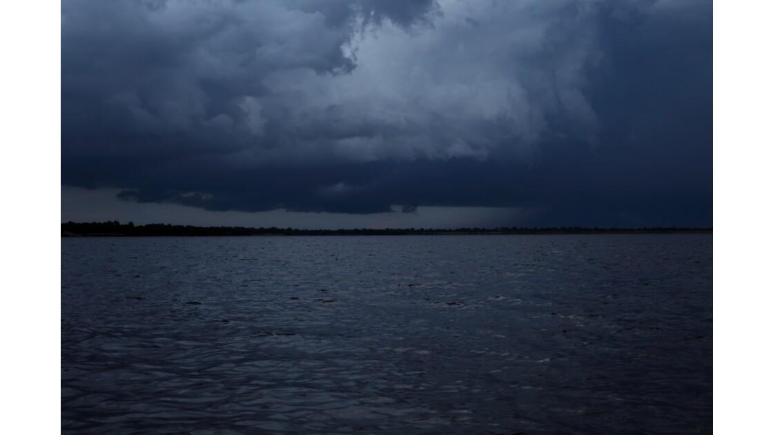 Lake, Siem Reap, Cambodge
