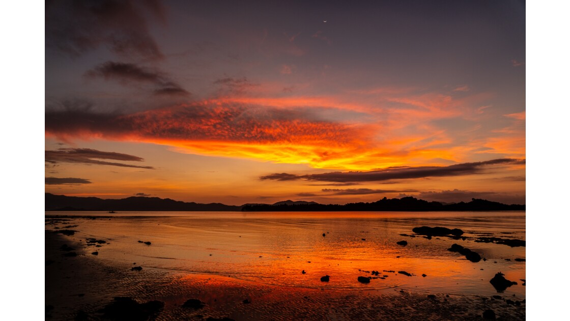 Sunset - près de Port Barton