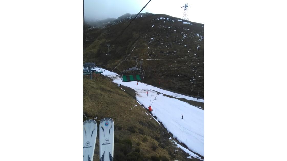 Un manque de neige