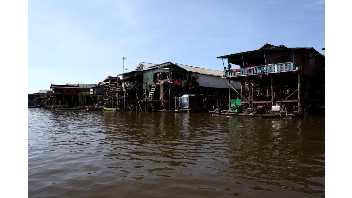 Village flottant, Siem Reap, Cambodge