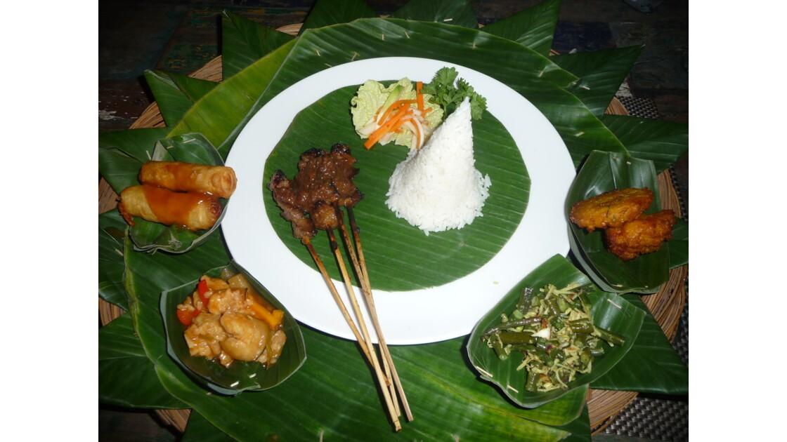 Repas Balinais