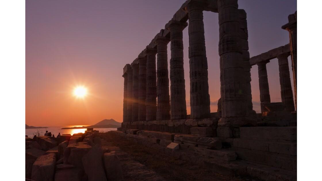 Au Temple de Poseidon