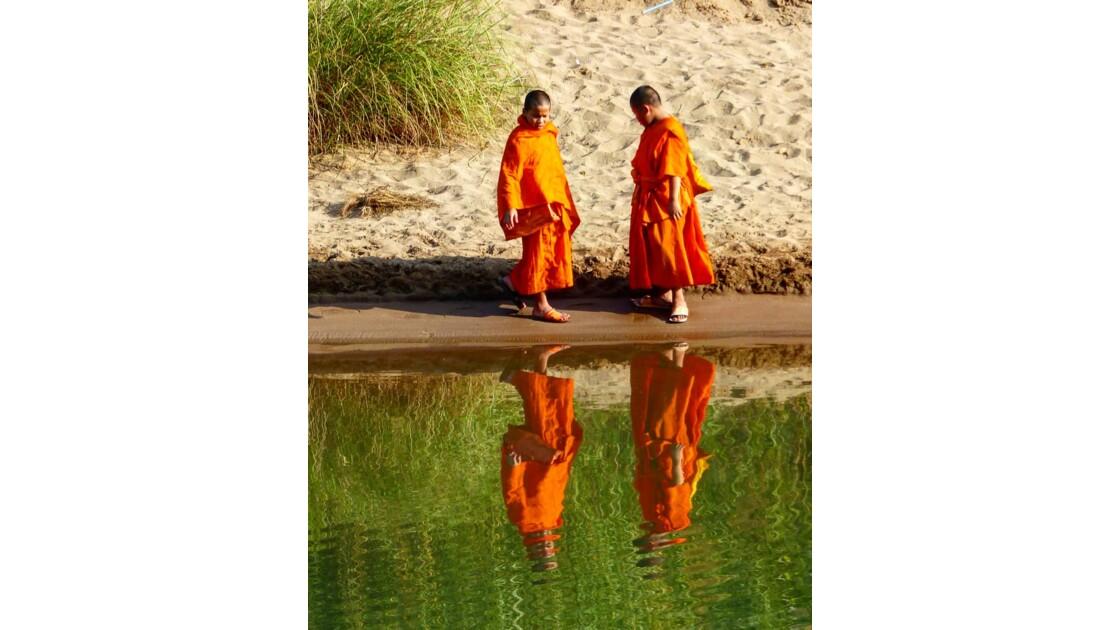 Reflet de moines