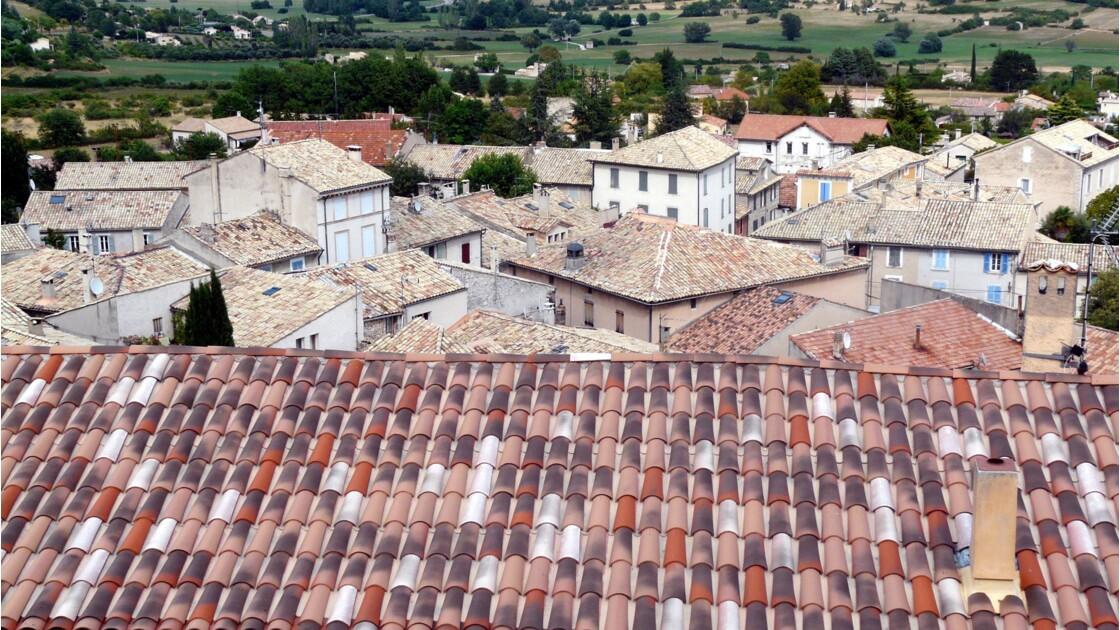 Les toits de Banon