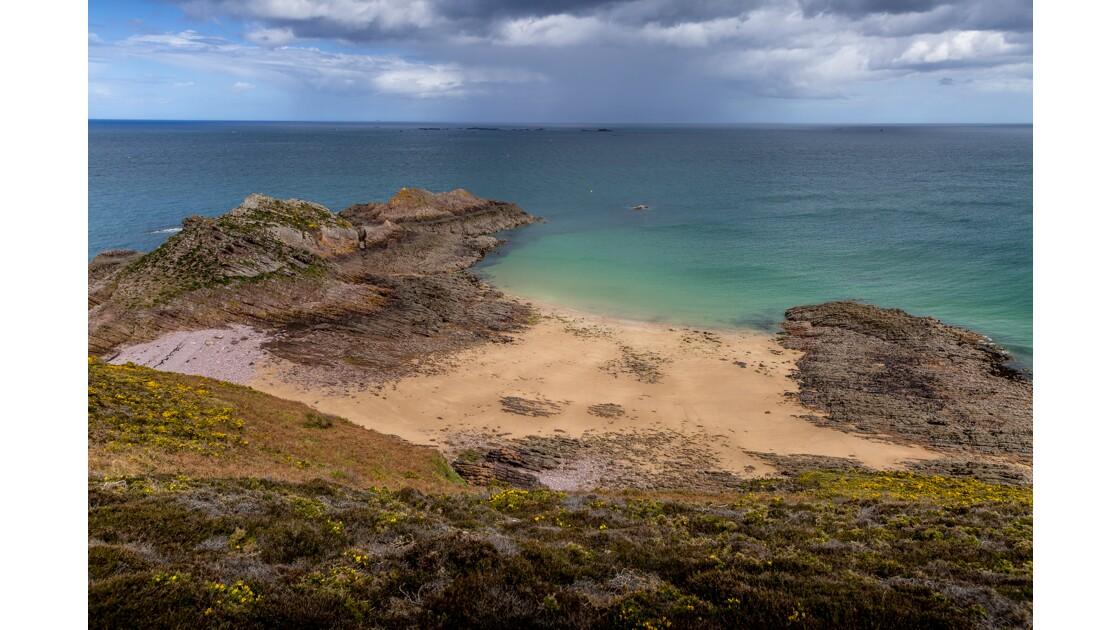 La plage du Cap d'Erquy