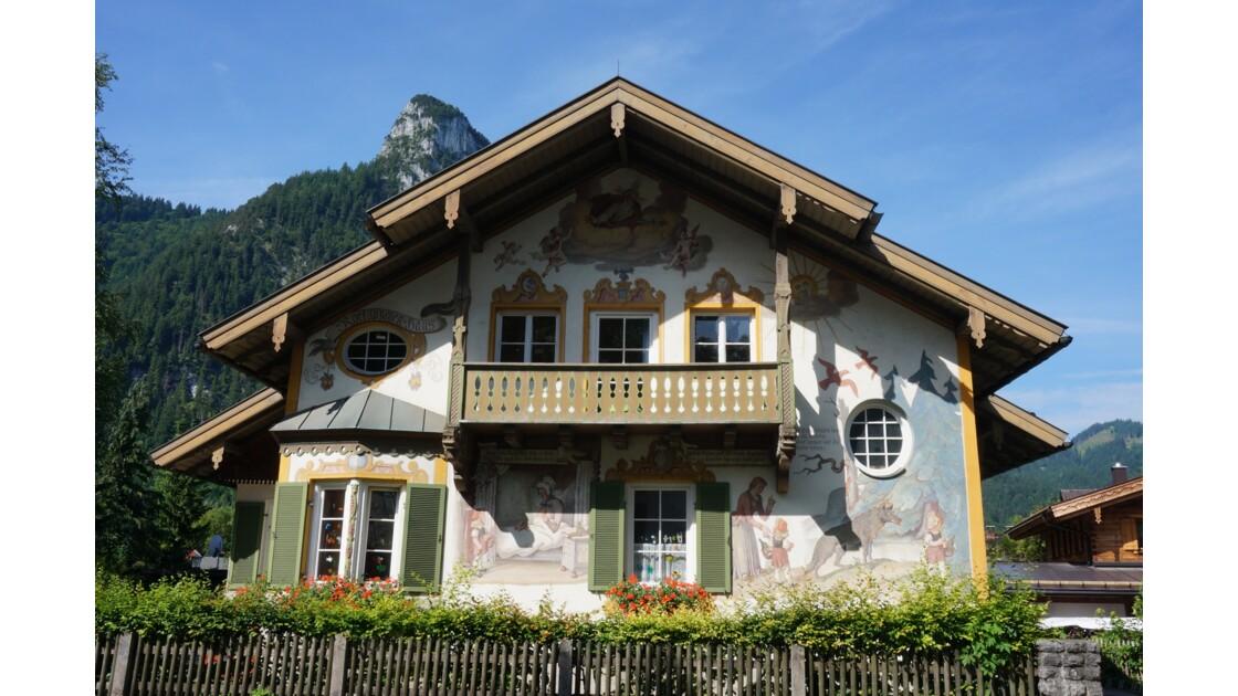Maison  baroque d'Oberammergau