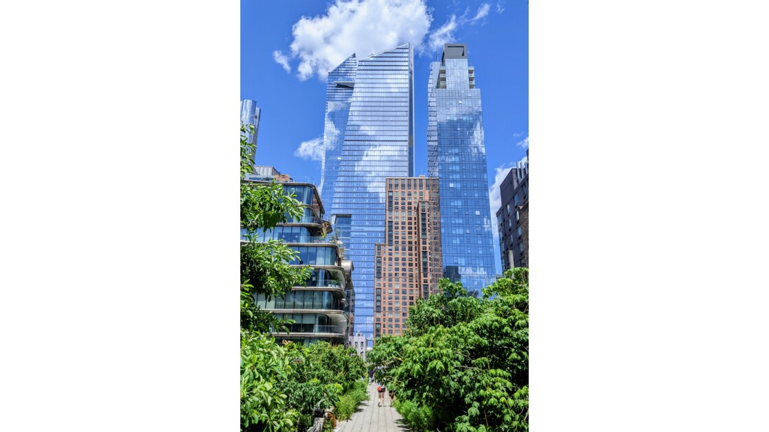 NYCity - Hudson Yards from the High Line