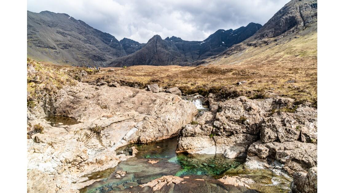 Cristallines Fairy pools et le Cuillin - Skye