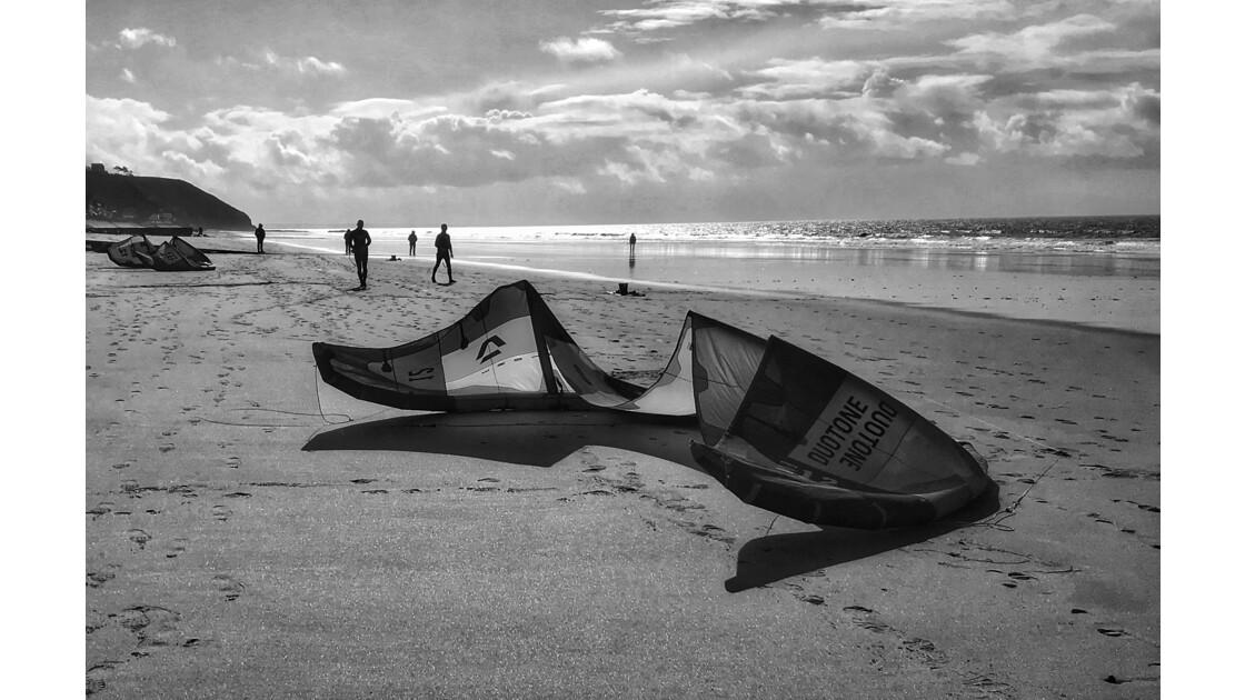 Kite l'hiver