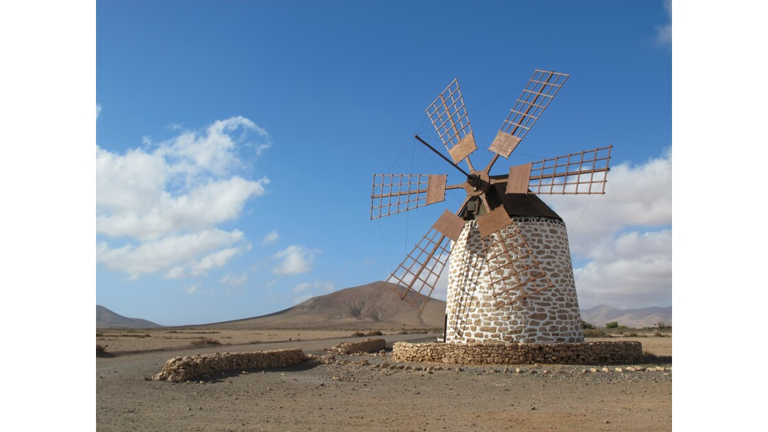 Seul au monde - Molino de Tefia - Fuerteventura