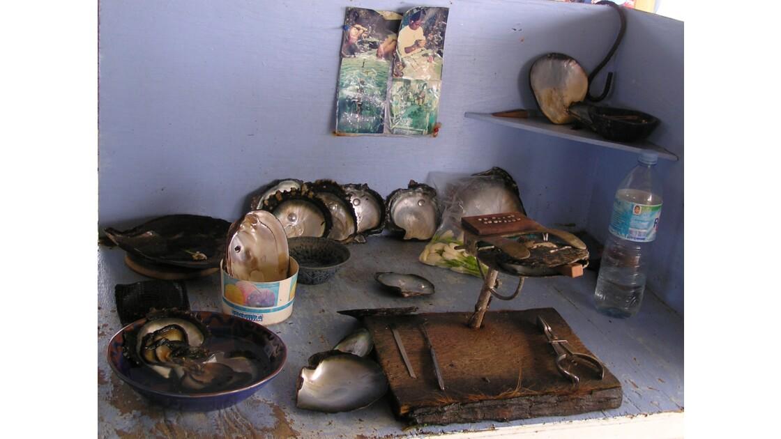 Ferme perlière sur Huahine