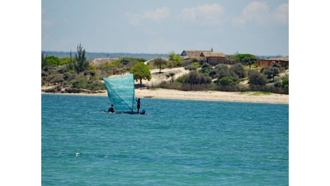 Madagascar Port de pêche d'Ifaty 5