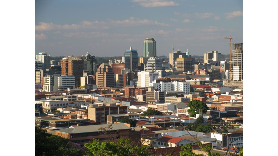 Panorama du Zimbabwe