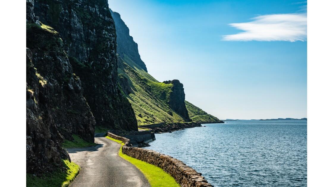 Superbes paysages de la A849 sur Mull