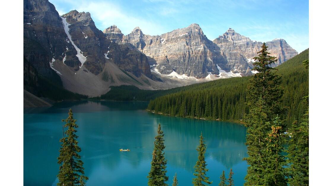 Enchanteur Lac Moraine