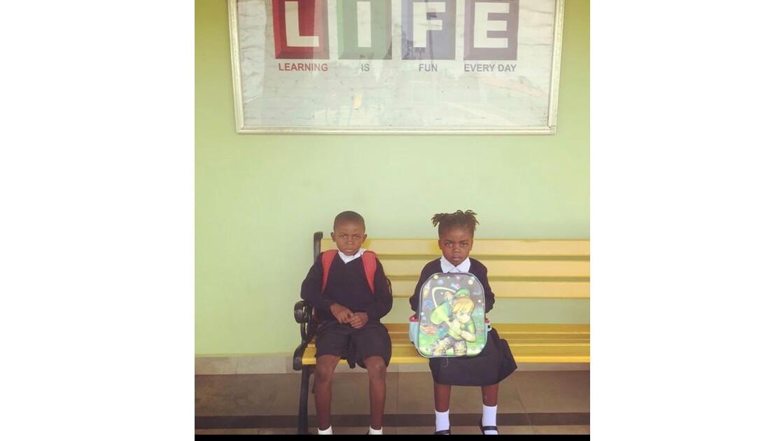 Écoliers congolais